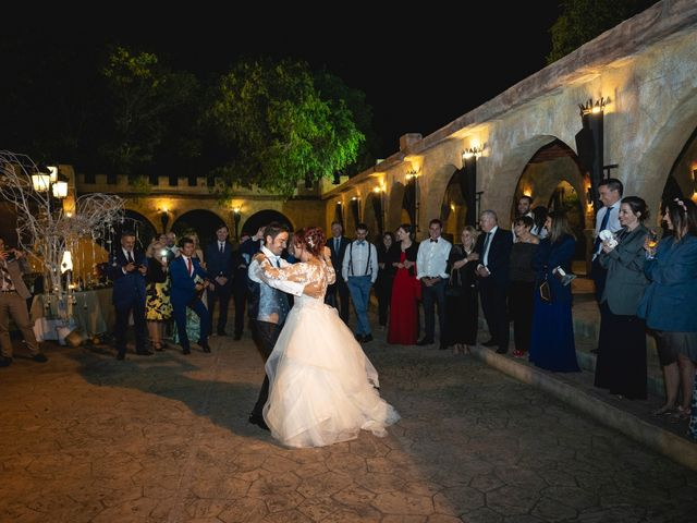 La boda de Patricia  y Fidel Luis  en Talamanca Del Jarama, Madrid 90