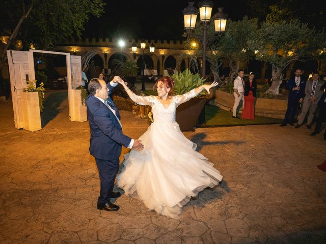La boda de Patricia  y Fidel Luis  en Talamanca Del Jarama, Madrid 94
