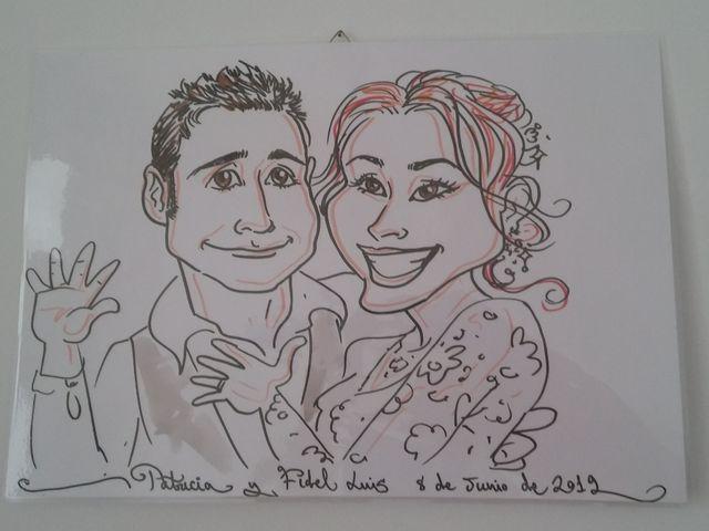 La boda de Patricia  y Fidel Luis  en Talamanca Del Jarama, Madrid 98