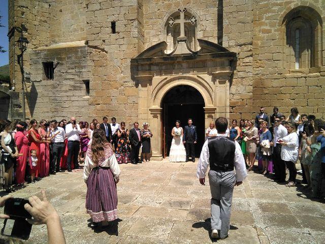 La boda de Iosu y Leyre en Lerga, Navarra 3