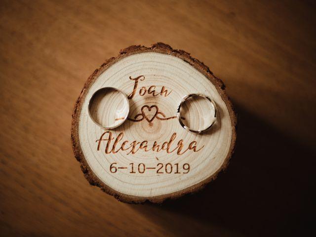La boda de Joan y Alexandra en Sant Marti De Tous, Barcelona 2