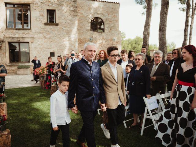 La boda de Joan y Alexandra en Sant Marti De Tous, Barcelona 44