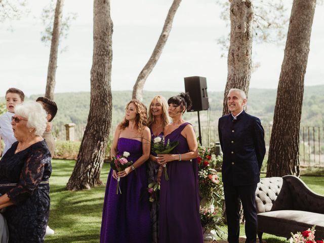 La boda de Joan y Alexandra en Sant Marti De Tous, Barcelona 48