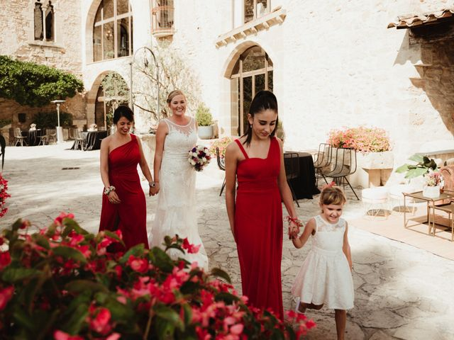 La boda de Joan y Alexandra en Sant Marti De Tous, Barcelona 49