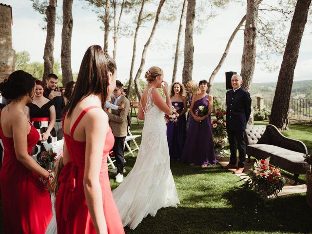 La boda de Joan y Alexandra en Sant Marti De Tous, Barcelona 51