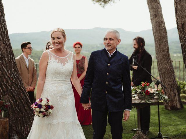 La boda de Joan y Alexandra en Sant Marti De Tous, Barcelona 77