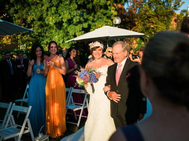 La boda de Javi y Berta en Algete, Madrid 25