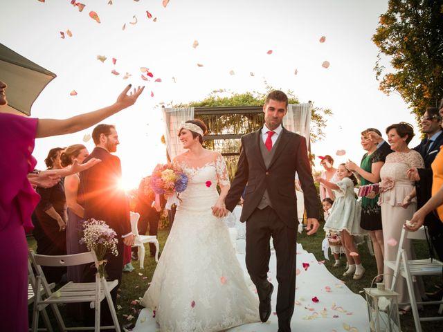 La boda de Javi y Berta en Algete, Madrid 1
