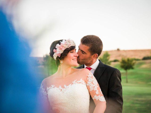 La boda de Javi y Berta en Algete, Madrid 2