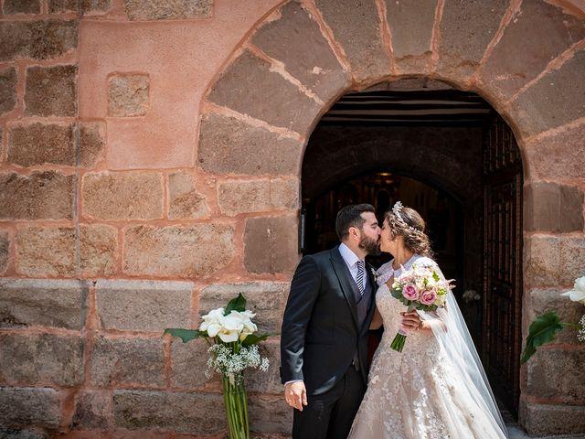 La boda de Carlos y Judith en Villamediana De Iregua, La Rioja 29