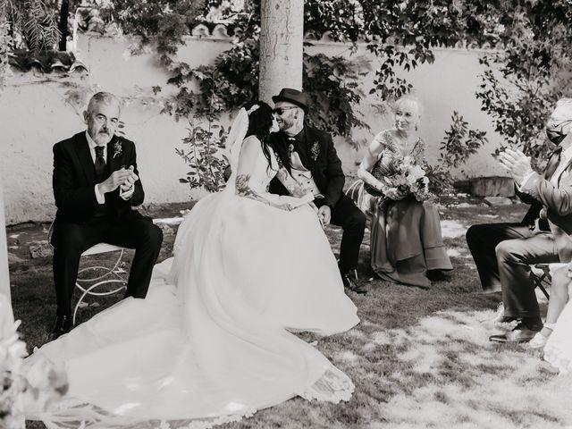 La boda de Estefanía y Sergio en Cubas De La Sagra, Madrid 81