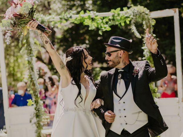 La boda de Estefanía y Sergio en Cubas De La Sagra, Madrid 86