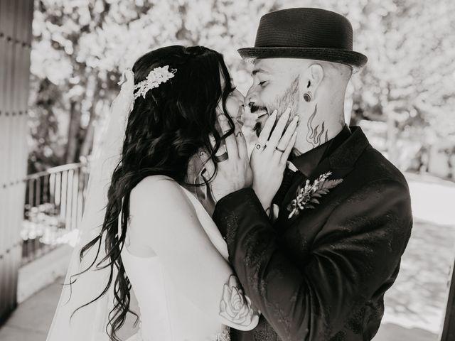 La boda de Estefanía y Sergio en Cubas De La Sagra, Madrid 97