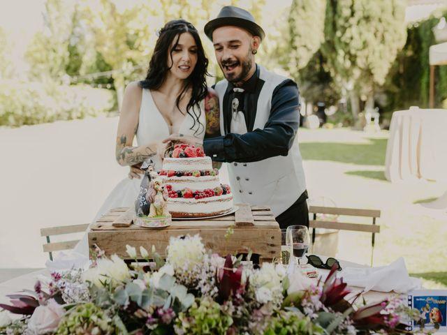 La boda de Estefanía y Sergio en Cubas De La Sagra, Madrid 109
