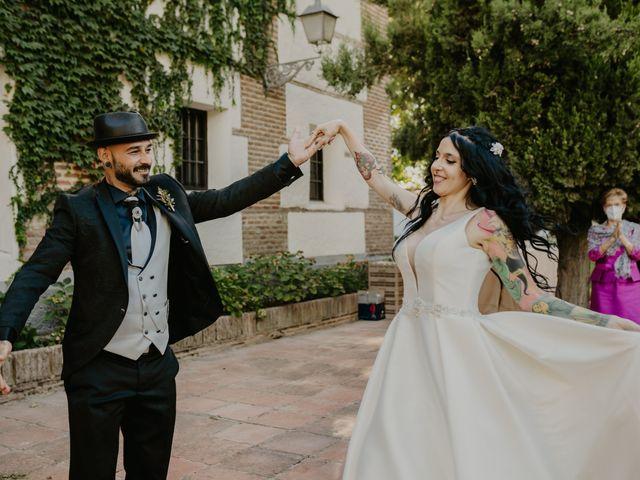 La boda de Estefanía y Sergio en Cubas De La Sagra, Madrid 122