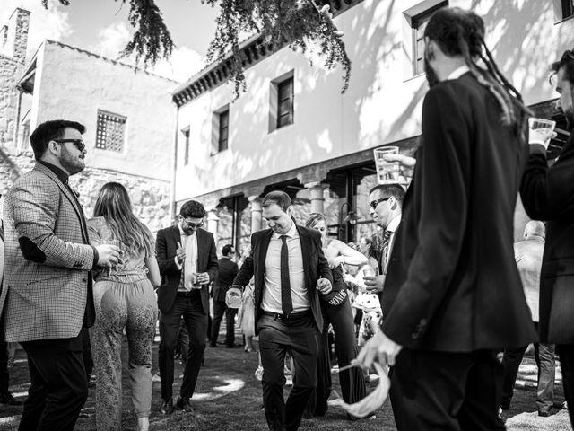 La boda de Carlos y Lucía en Ávila, Ávila 91