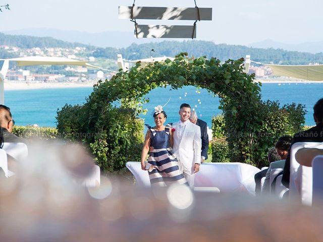 La boda de Ruben y Andrea en San Vicente De El Grove, Pontevedra 7