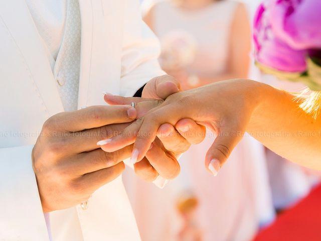 La boda de Ruben y Andrea en San Vicente De El Grove, Pontevedra 10