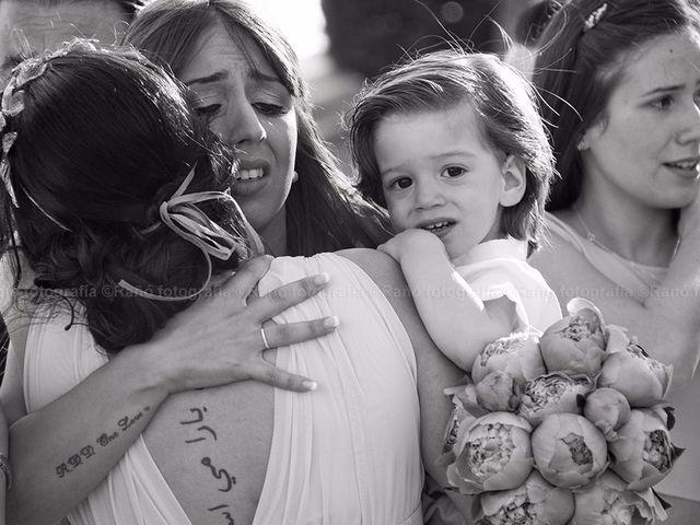 La boda de Ruben y Andrea en San Vicente De El Grove, Pontevedra 11
