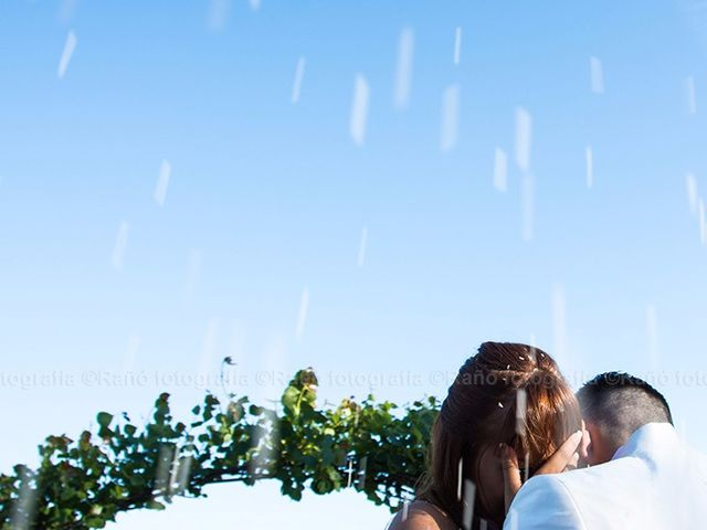 La boda de Ruben y Andrea en San Vicente De El Grove, Pontevedra 12