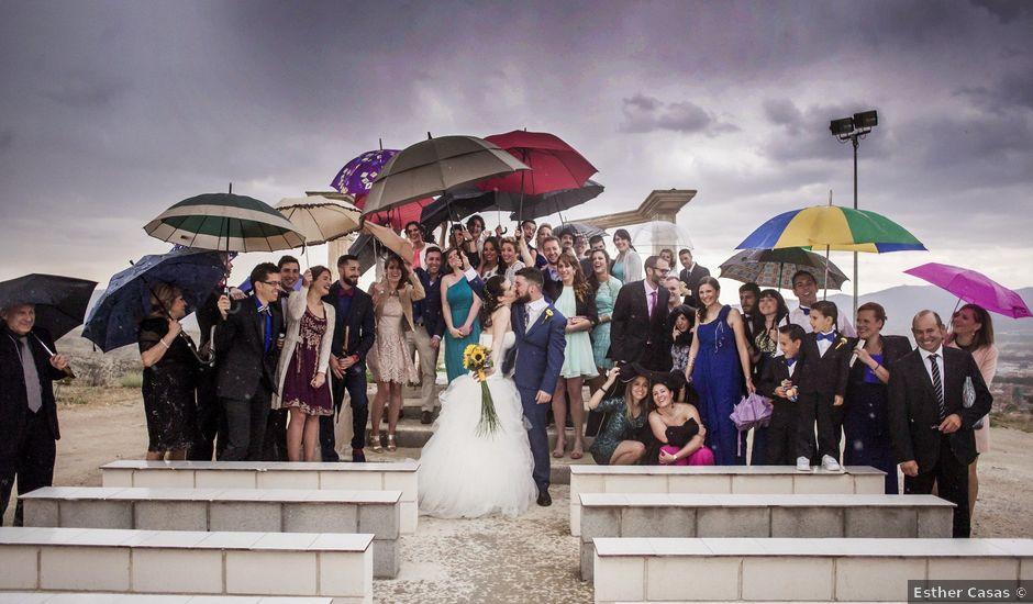 La boda de Alberto y María en Calatayud, Zaragoza