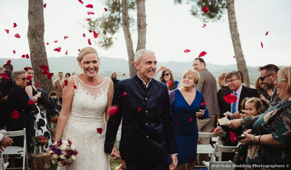 La boda de Joan y Alexandra en Sant Marti De Tous, Barcelona