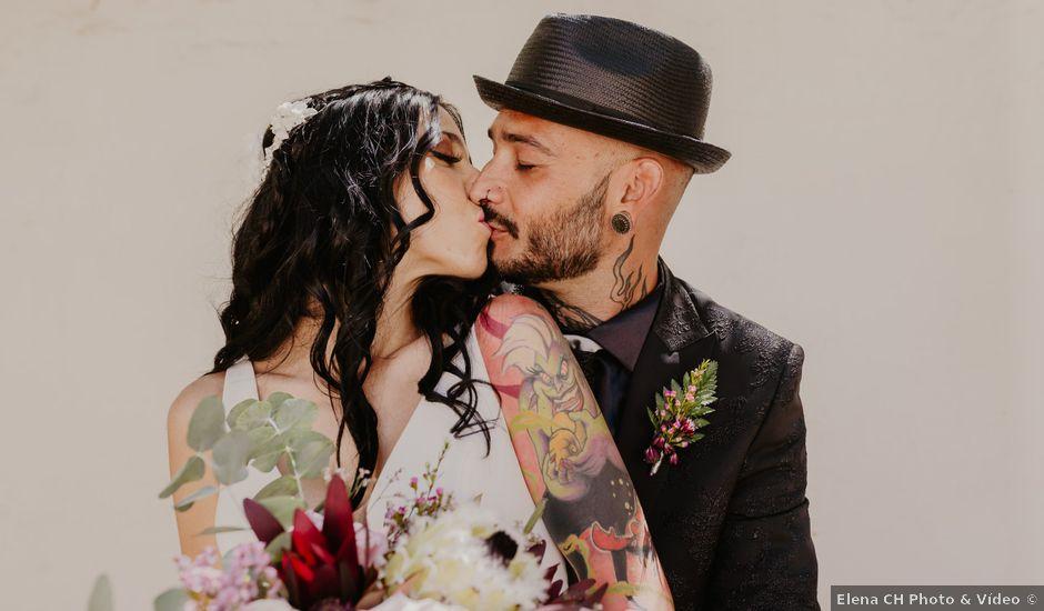 La boda de Estefanía y Sergio en Cubas De La Sagra, Madrid