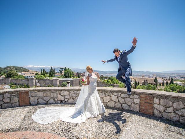 La boda de Fran y Silvia en Granada, Granada 7