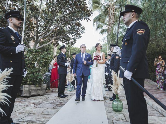 La boda de Jose y Marisa en Viator, Almería 33