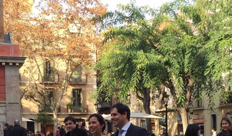 La boda de Emmanuel y L.Mónica  en Barcelona, Barcelona