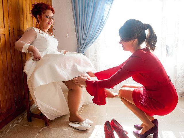 La boda de Cristian y Silvia en L' Alcora, Castellón 24