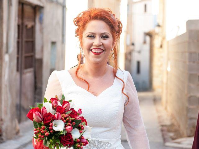 La boda de Cristian y Silvia en L' Alcora, Castellón 33