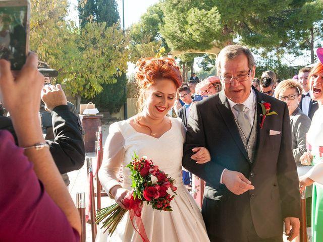 La boda de Cristian y Silvia en L' Alcora, Castellón 43