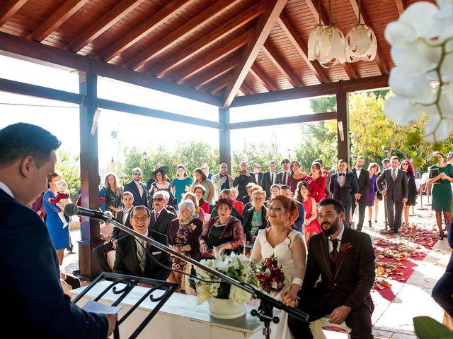 La boda de Cristian y Silvia en L' Alcora, Castellón 45