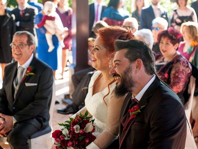 La boda de Cristian y Silvia en L' Alcora, Castellón 47