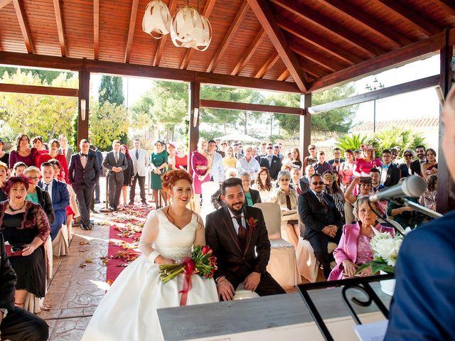 La boda de Cristian y Silvia en L' Alcora, Castellón 2