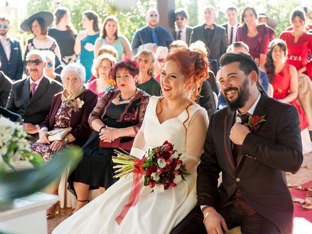 La boda de Cristian y Silvia en L' Alcora, Castellón 49