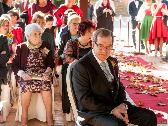 La boda de Cristian y Silvia en L' Alcora, Castellón 50