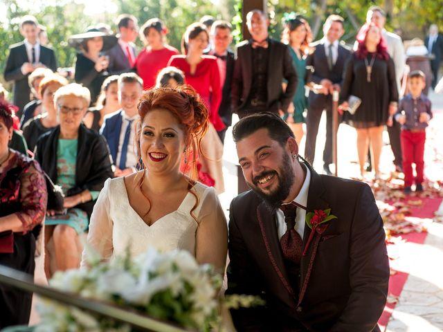 La boda de Cristian y Silvia en L' Alcora, Castellón 51