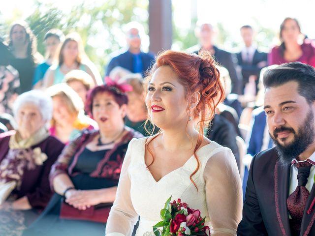 La boda de Cristian y Silvia en L' Alcora, Castellón 58