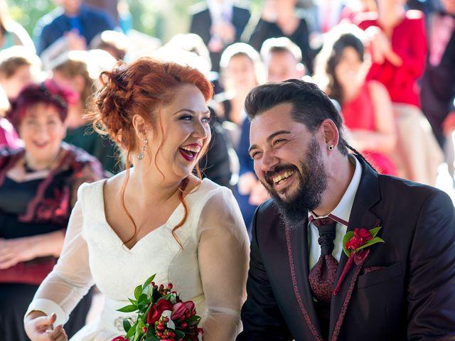 La boda de Cristian y Silvia en L' Alcora, Castellón 59