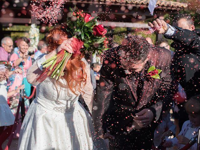 La boda de Cristian y Silvia en L' Alcora, Castellón 63
