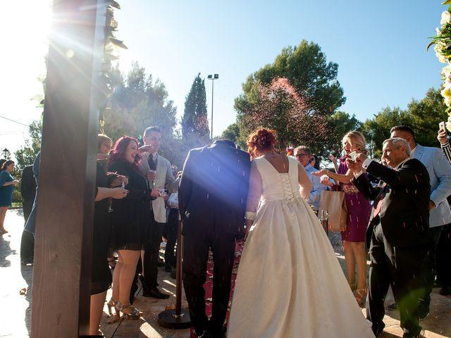 La boda de Cristian y Silvia en L' Alcora, Castellón 64