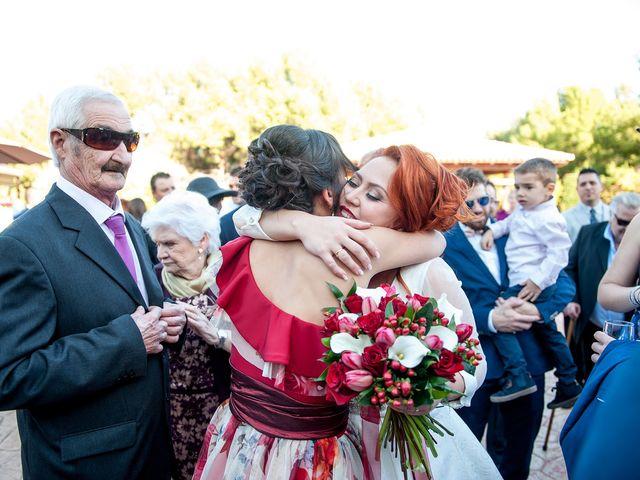 La boda de Cristian y Silvia en L' Alcora, Castellón 65