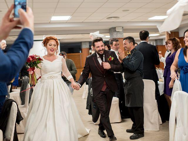 La boda de Cristian y Silvia en L' Alcora, Castellón 70
