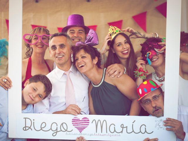 La boda de Diego y Maria en Benicàssim/benicasim, Castellón 50