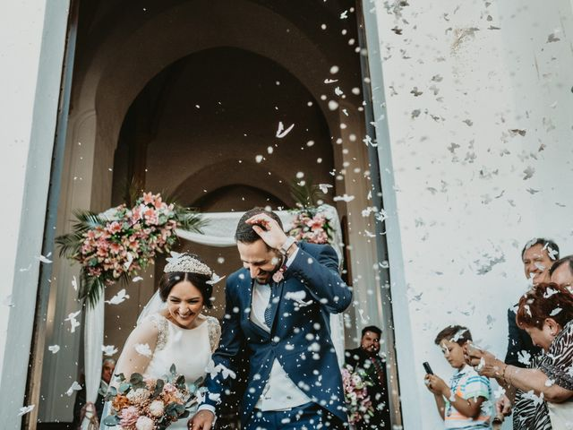 La boda de Javier y Rosario en Villarrasa, Huelva 39