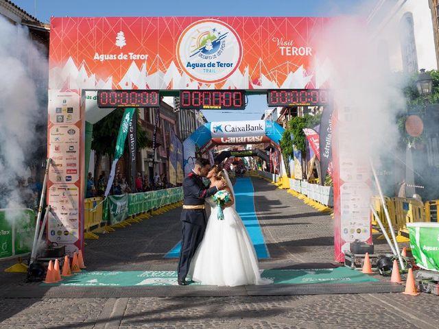 La boda de Samuel y Raquel en Teror, Las Palmas 1