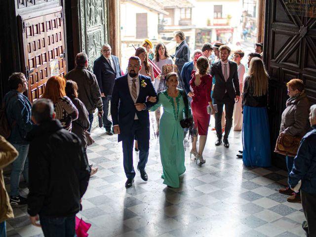 La boda de Pedro y Nuria en Cañamero, Cáceres 11