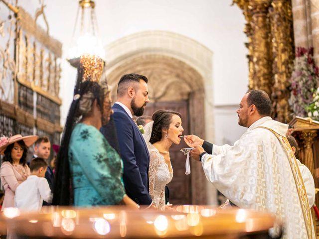 La boda de Pedro y Nuria en Cañamero, Cáceres 20